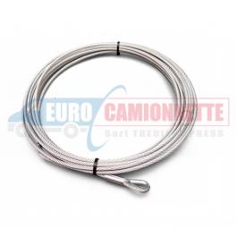 Câble d'acier 26m 12mm 15000-18000lbs