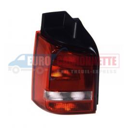 FEU ARRIÈRE VW T5 09-  rouge/blanc 1 porte arr. Gauche