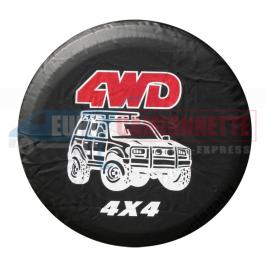 "Housse de roue de secours ""4WD""O 72cm"