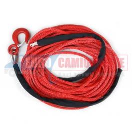 Corde plasma/synthétique SK-75 10mm 28m + crochet
