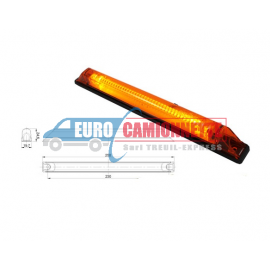 Feux de gabarit LED 12/24V LONG ORANGE
