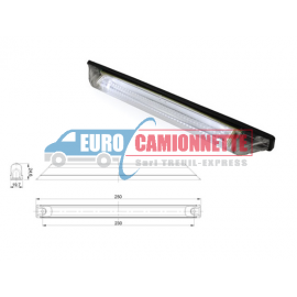 Feux de gabarit LED 12/24V LONG BLANC