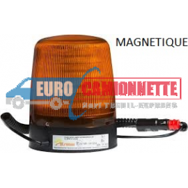 GYROPHARE stroboscopique en LED-MAGNETIQUE