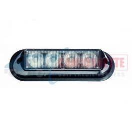 FEUX DE PENETRATION - Stroboscope LED 4xLed 12/24V blanc