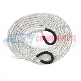 Corde cinétique Quad/ Atv **7 tonnes / 6m(14mm)