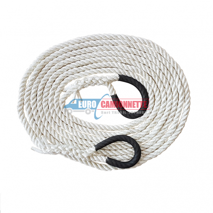 Corde cinétique QUAD / ATV **7 tonnes / 6m(14mm)
