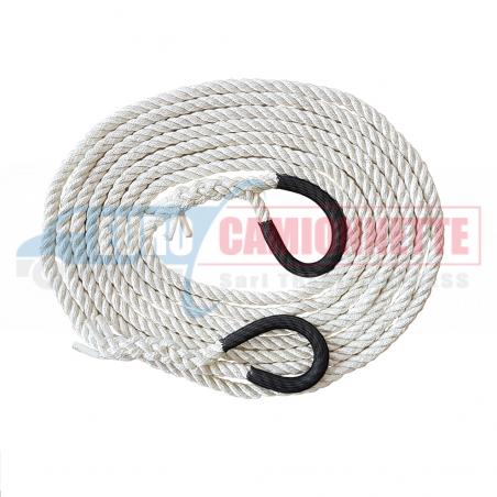 Corde cinétique pourQuad et Atv 7 tonnes 6m 14mm