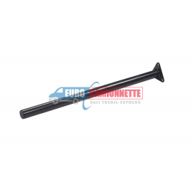 Tube droit de fixation GARDE-BOUE Ø42 Support