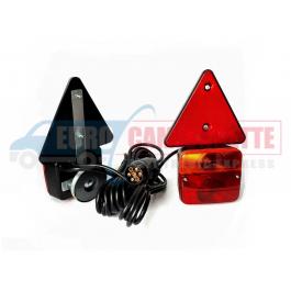 Kit d'éclairage magnétique pour remorque