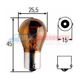 """10 x Ampoules """"Trifa Germany"""" 12V PY21W"""