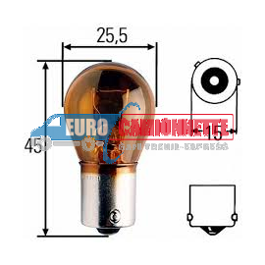 """10 x Ampoule """"Trifa germany"""" 24V PY21W"""