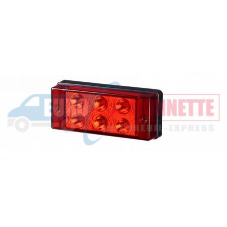 Feu arrière anti-brouillard LED 12/24V