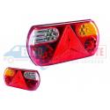 Feux arrière à LED universel 12-24V avec triangle
