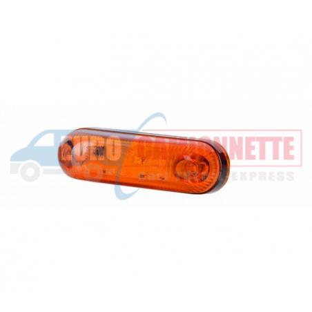 Feux de gabarit LED 12/24V latérale universelle Camion remorque