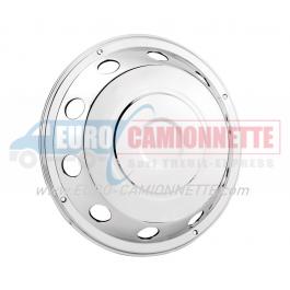 """Enjoliveur de roue avant en inox 19.5"""" pour Camions"""