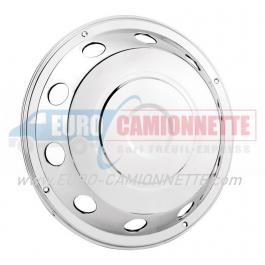 """Enjoliveur de roue avant en inox 22.5"""" pour Camion"""