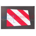 Plaque de signalisation réfléchissante pour remorque semi-remorque et camions