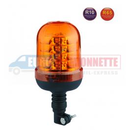 Gyrophare LED Flex R65 R10 24 led pour dépanneuse, 4x4 etc
