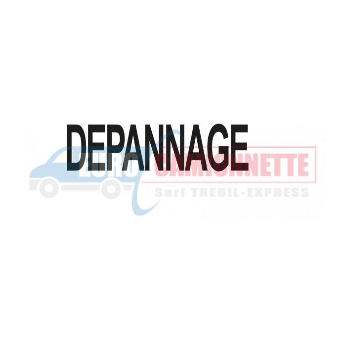 Sticker Adhésif DEPANNAGE