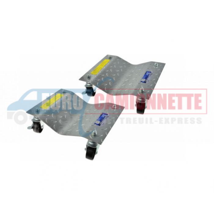2x Chariots de manutention pour Véhicules, motos 1500Lbs 680Kg