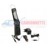 Lampe torche baladeuse LED rechargeable 21+5 LED 12V/230V