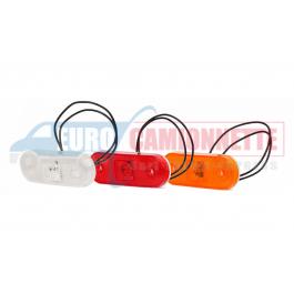 Feu de gabarit LED 12 - 24V pour remorque, camions, Poids lourd etc
