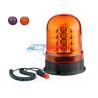 Gyrophare LED Orange 12V 24V  R65 R10 magnétique