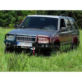 Pare chocs avant Avec protections des phares pour Opel FRONTERA 1991-1998