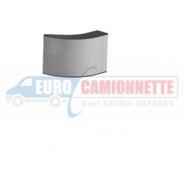 Embout de finition en aluminium pour barres de protection latérale