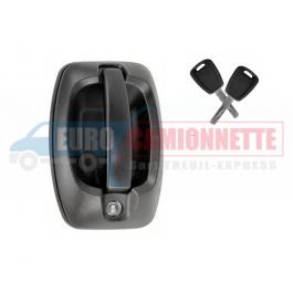 Poignée de porte arrière Citroen Jumper Fiat Ducato Peugeot Boxer avec clé