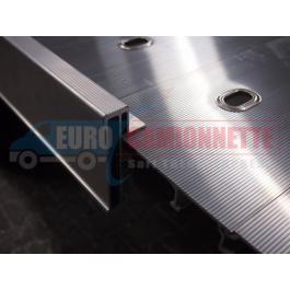 Profil de finition latérale de plancher aluminium pour dépanneuse ou remorque 185cm