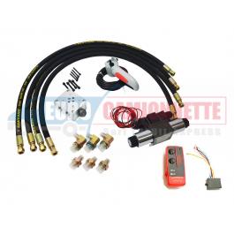 Kit de contrôle à distance pour treuils hydrauliques