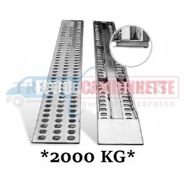 Rampes de chargement en aluminium pour dépanneuse, remorque 200x31cm 2T