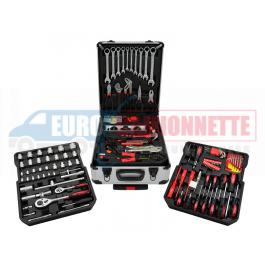 Boîte à outils avec équipement complet 187 éléments