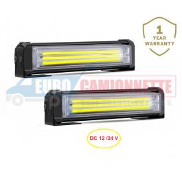 Feu de pénétration stroboscopique barre lumineuse à LED 12 /24 V 40W
