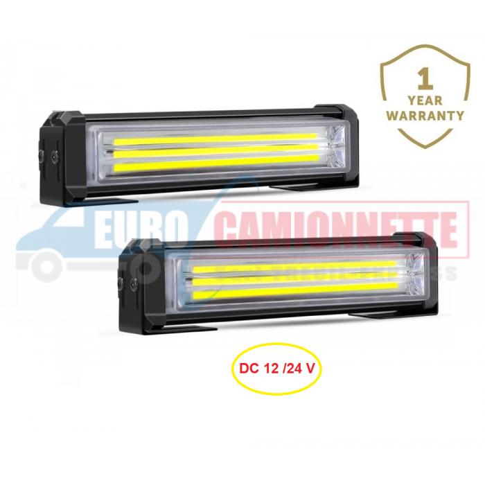 Barre lumineuse stroboscopique à LED 12 /24 V 40W