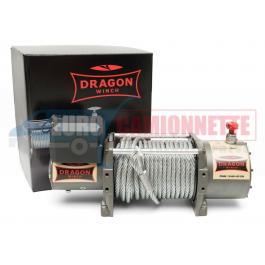 Treuil DRAGON WINCH DWM 13500 HD-EN 6.1 T pour dépanneuse, camion, poids lourd