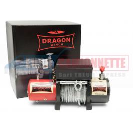 Treuil DRAGON-WINCH 8000 HD 12V 3.6T pour 4x4, remorque et voitures légères