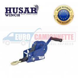 Treuil manuel Husar-Winch 4500 LBS / 2000 kg avec câble en acier