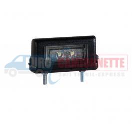 Feux de plaque d'immatriculation à LED universelle 12V 24V Camions Camionnette Remorque etc.