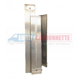 Rampe de chargement Aluminium 205 cm ou 250 cm 2 Tonnes