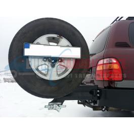 Support de roue de secours TOYOTA LC100