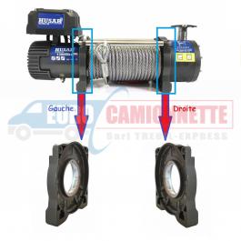 Pied Support du moteur ou Engrenages pour treuil électrique Husar-Winch 8000-13000 LBS