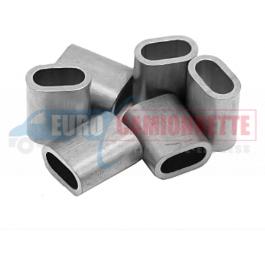 Manchon de sertissage en aluminium pour câble de 10 mm