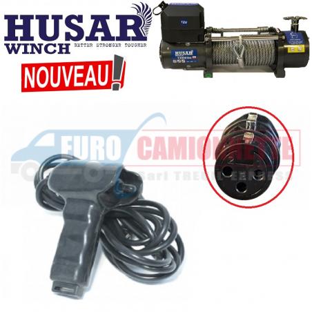 Télécommande Filaire pour treuil HUSAR-Winch 12/24V