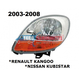 Optique avant KANGOO / KUBISTAR de 2003 à 2008 GAUCHE