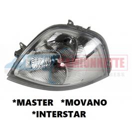 Optique avant MASTER /MOVANO / INTERSTAR de 2003-10 /GAUCHE