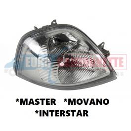Optique avant MASTER /MOVANO / INTERSTAR de 2003-10 /DROITE