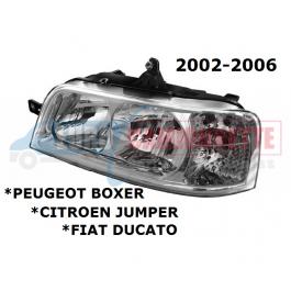 PHARE avant BOXER /JUMPER /DUCATO 02-06 GAUCHE