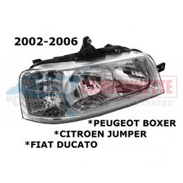 PHARE av BOXER JUMPER DUCATO 02-06 DROITE